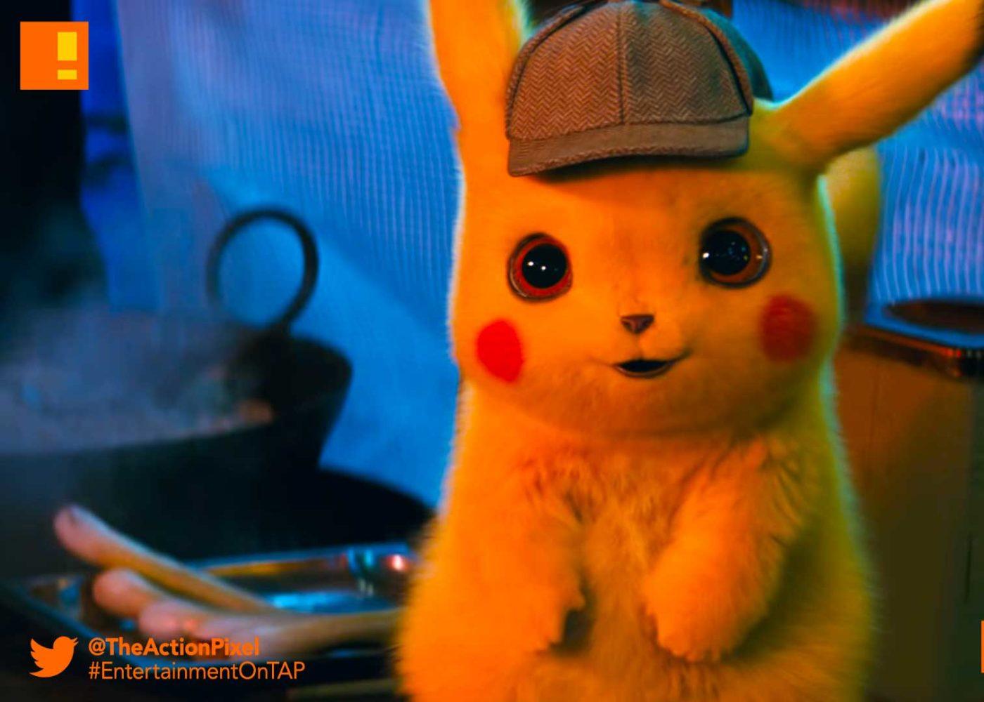 POKÉMON Detective Pikachu, pokemon, pokémon, legendary pictures, warner bros. pictures, ryan reynolds, entertainment on tap,