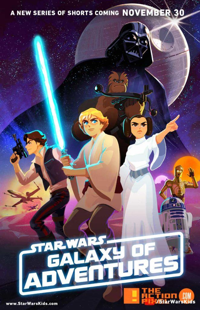 Star Wars Galaxy of Adventures, star wars, luke skywalker,  Han Solo, Chewbacca, Yoda, Princess Leia, Darth Vader, hasbro