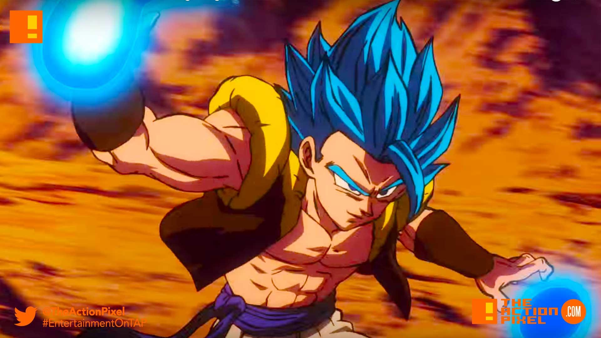 dragon ball super: broly, anime, dbz, dragon ball z, dragonball z, the action pixel, entertainment on tap, trailer, bandai namco entertainment , bandai namco,