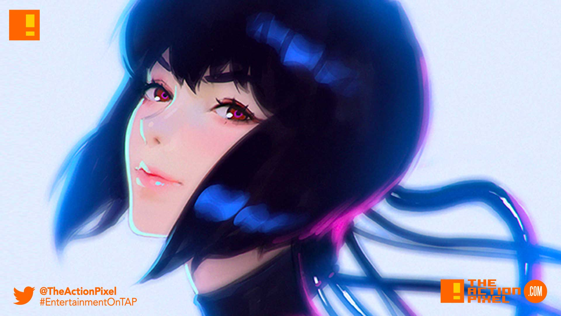 ghost in the shell, netflix, the action pixel, entertainment on tap, major,