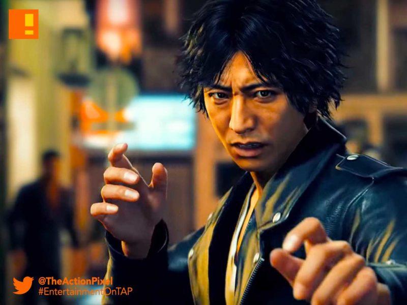 judgement, yakuza, sega, the action pixel, entertainment on tap, announcement trailer,