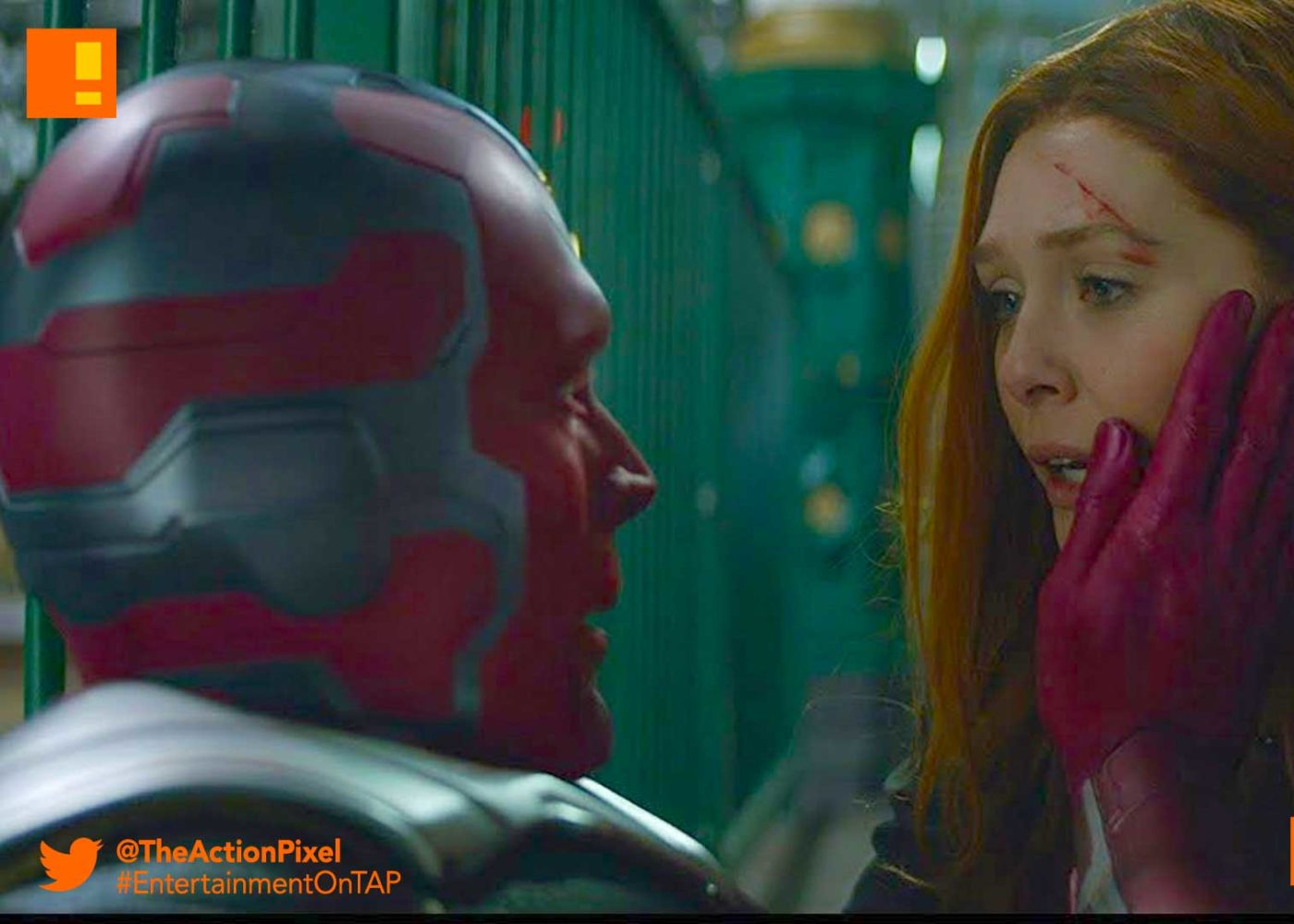 scarlet witch, vision, marvel, disney+ tv series, avengers, infinity war, the action pixel, entertainment on tap,