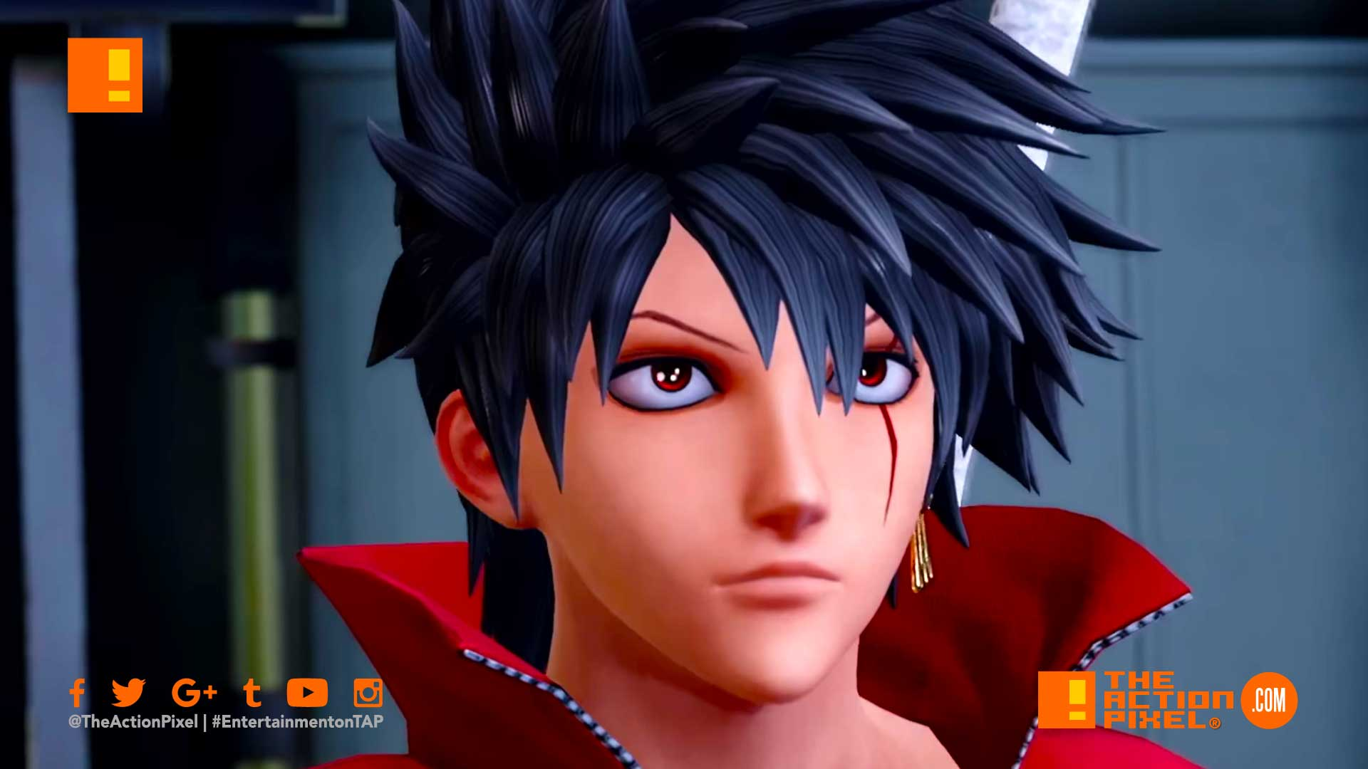 jump force, trailer, launch trailer, the action pixel, entertainment on tap,dbz, goku, death note, kenshi,naruto, anime, manga, bandai namco