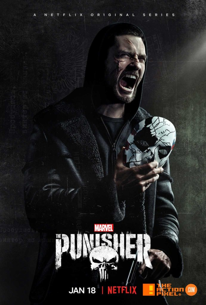 Jigsaw, the punisher, punisher 2, the punisher season 2, marvel, netflix, the action pixel, entertainment on tap, jon bernthal, release date, date announce, featured, trailer , season 2, the punisher 2 trailer,poster