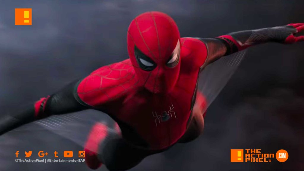mysterio, spider-man, spiderman, marvel, marvel comics, peter parker, spider-man: far from home, far from home, spider-man far from home teaser trailer, spiderman far from home trailer, the action pixel, featured, entertainment on tap,