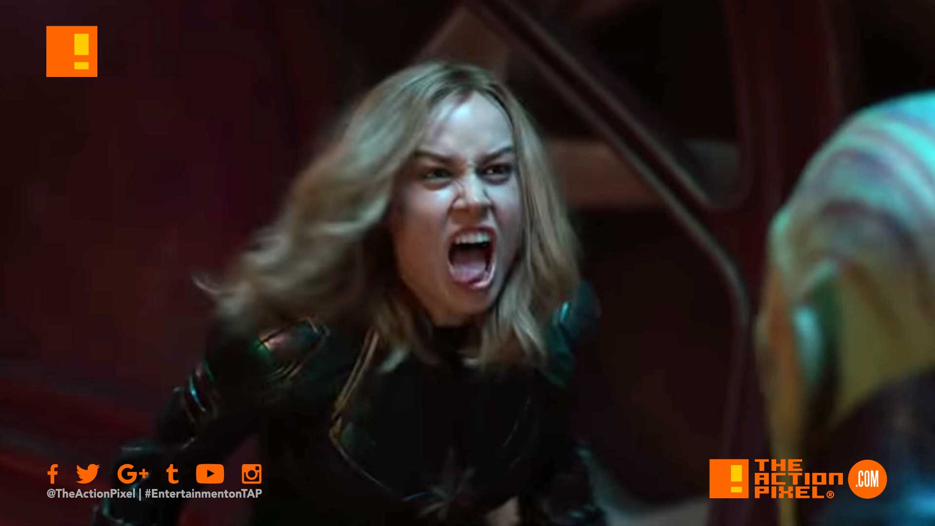 captain marvel, marvel, trailer 2, captain marvel, brie larson, marvel,marvel comics,marvel entertainment, the action pixel,entertainment on tap, annette Bening, actor, captain marvel, brie larson, marvel,marvel comics,marvel entertainment, the action pixel,entertainment on tap, first look, entertainment weekly, skrull, mar-vell, jude law, nick fury, poster, new trailer, espn,captain marvel special look, big game