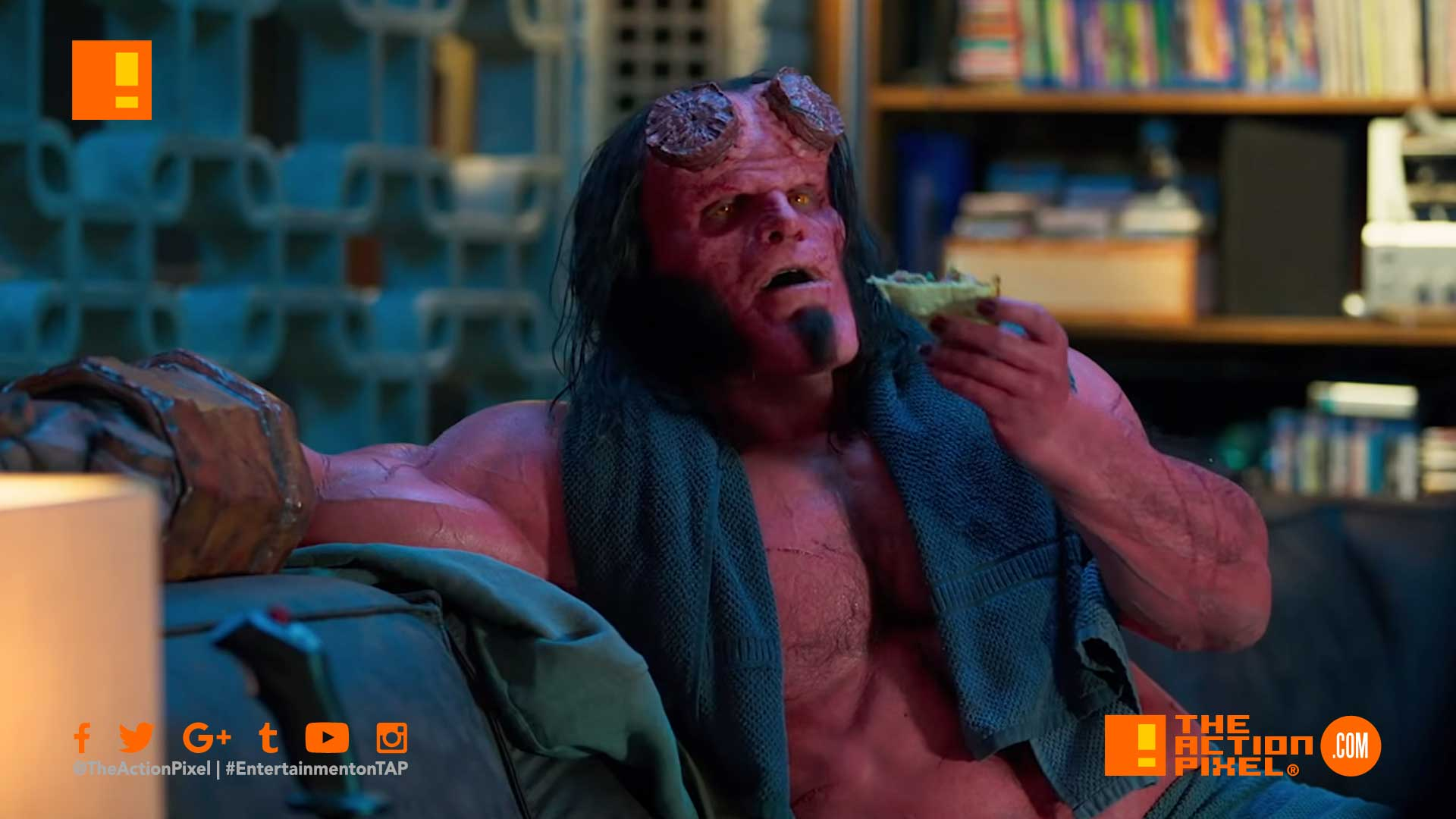 hellboy, osiris club, mike mignola, dark horse comics, hellboy, hellboy red band trailer, the action pixel, entertainment on tap, trailer, lionsgate movies,