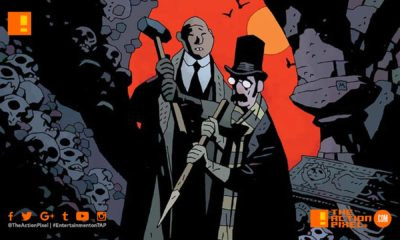 Professor Meinhardt, blackwater falls, hornetwood, our encounters with evil, mike mignola, hellboy, lionsgate movies,