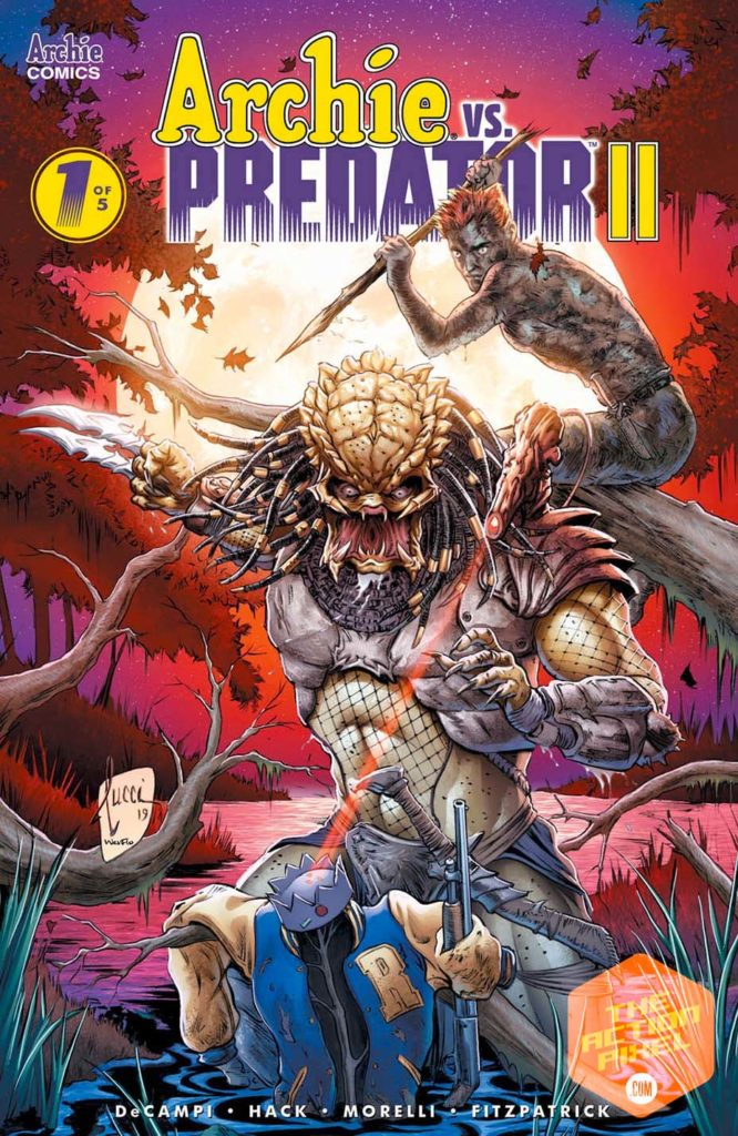 archie, archie vs. predator ii, archie vs. predator, the action pixel, entertainment on tap, revenge comes to riverdale, betty, veronica,