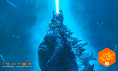 ghidorah, mothra, godzilla, rodan, poster, warner bros. pictures, trailer, character poster, trailer 2,godzilla: king of the monsters, godzilla, millie bobby brown, the action pixel, entertainment on tap, atomic breath,godzilla poster, atomic breath, godzilla 2019