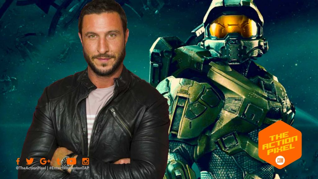 halo, microsoft, xbox, showtime, tv series, video game tv series, the action pixel, entertainment on tap, xbox, xbox one,john-117,  Pablo Schreiber, casting,