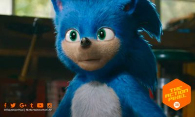 sonic the hedgehog, sonic, paramount pictures, the action pixel, entertainment on tap, poster, featured, paramount pictures, sonic movie, sonic movie trailer, sonic the hedgehog movie trailer,