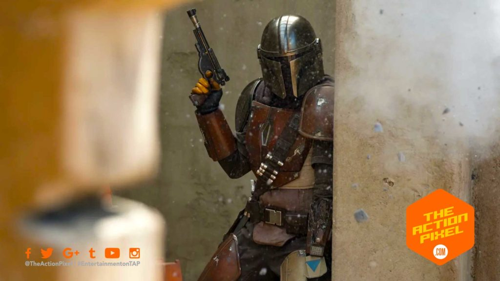 greef, star wars,mandalorian, live-action tv series, the action pixel, entertainment on tap, on Favreau, Dave Filoni, Kathleen Kennedy,  Colin Wilson,Karen Gilchrist, carl weathers, gina carano, featured, star wars celebration 2019
