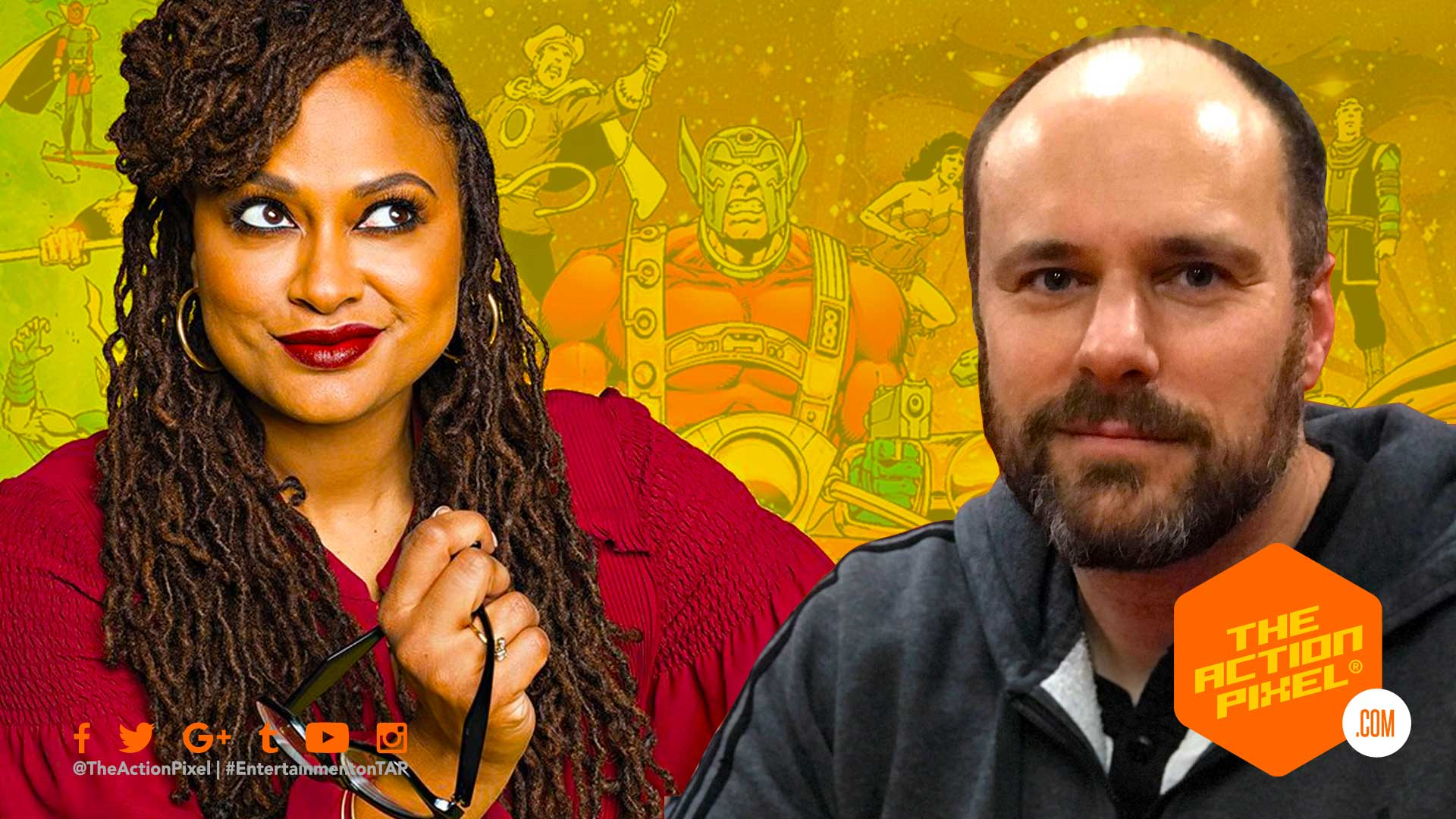 ava duvernay, tom king, the new gods, new gods , the action pixel, entertainment on tap, mister miracle, batman, featured,