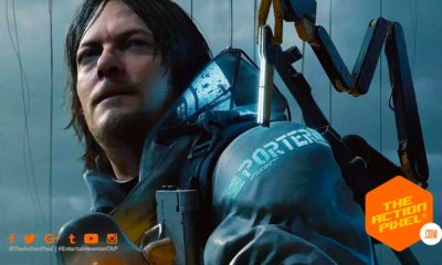 death stranding, guillermo del toro, mads mikkelsen, the action pixel, entertainment on tap, trailer, hideo kojima, the game awards,death stranding release date, featured,