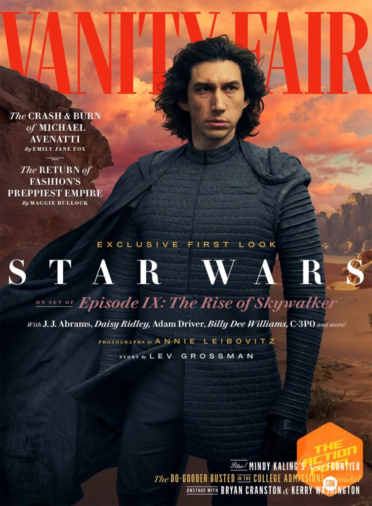 rey, star wars, kylo ren, finn, emperor palpatine, star wars: episode ix, star wars celebration, teaser, star wars ix trailer, star wars ix, star wars 9 trailer, star wars 9, the action pixel, entertainment on tap, disney, lucasfilm, lando , featured,vanity fair, bts, first look images,