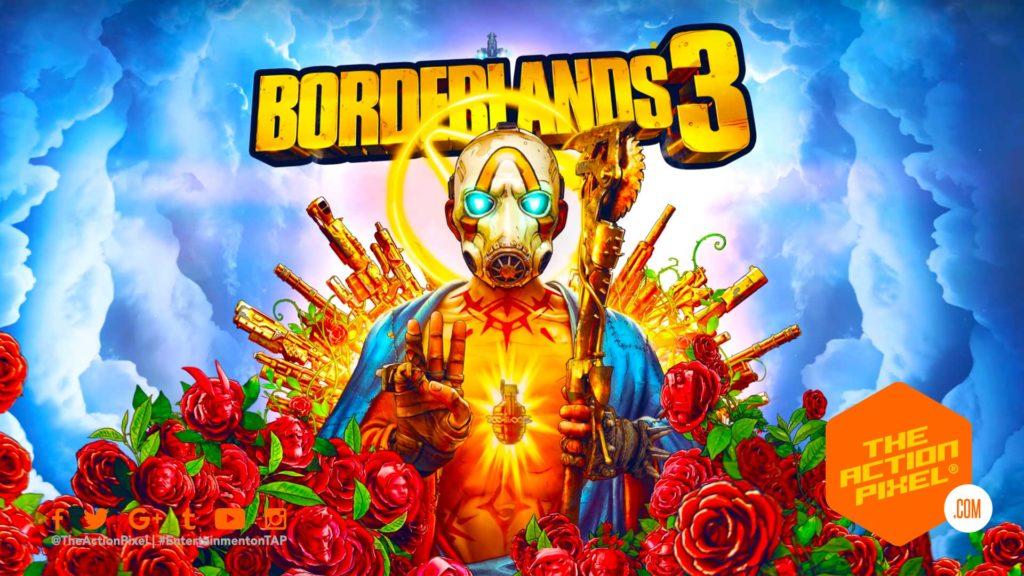 borderlands 3, gearbox software, epic games, 2k, 2k games, borderlands,e3 , e3 2019, the action pixel, entertainment on tap