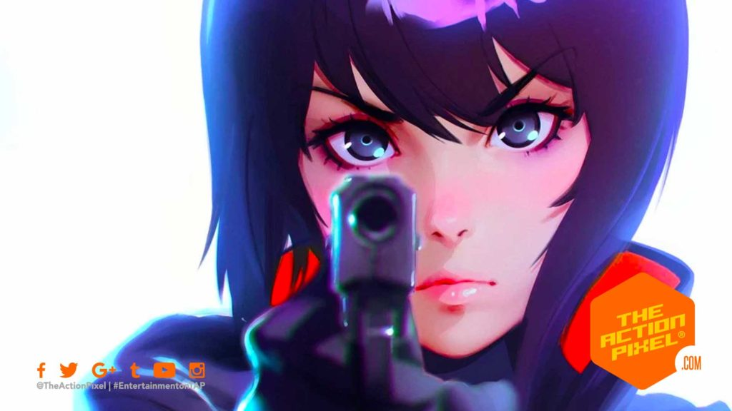 ghost in the shell, ghost in the shell: SAC_2045, gits, SAC_2045 ,SAC 2045, major, the action pixel, entertainment on tap, anime,netflix, annecy international animation film festival,