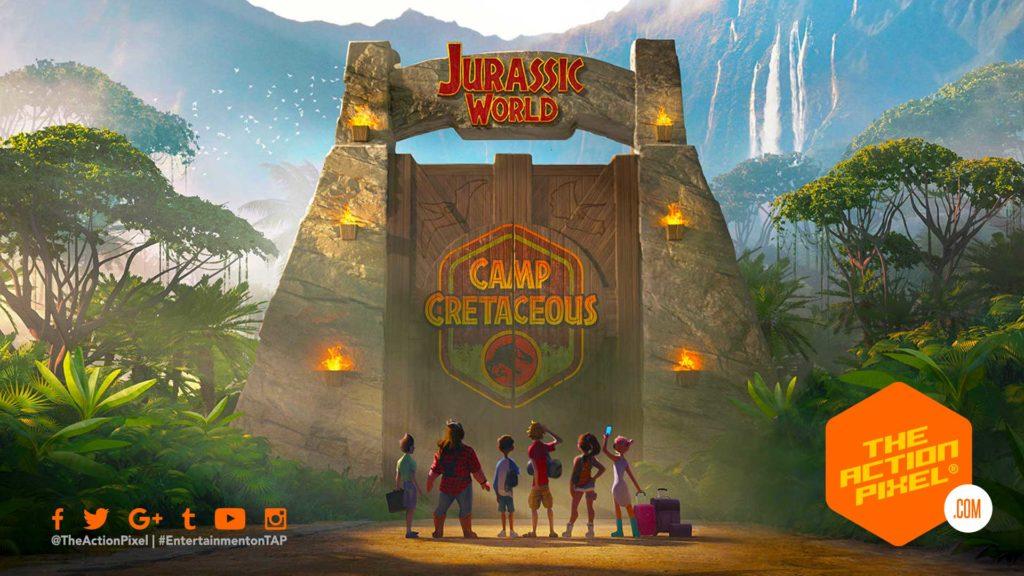jurassic world, jurassic park, netflix, jurassic world animation, jurassic wordl: camp cretaceous, the action pixel, entertainment on tap,