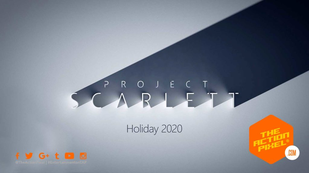 project scarlett, xbox, microsoft, the action pixel, entertainment on tap, e3, e3 2019,
