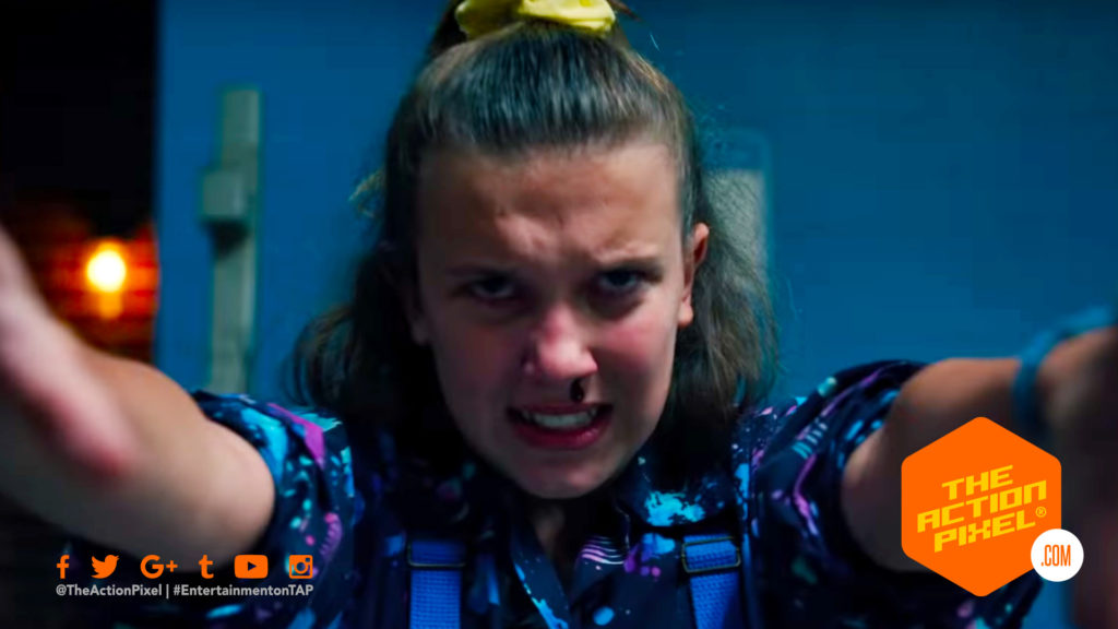stranger things , stranger things 3, poster, netflix, entertainment on tap, the action pixel, 1980, 1985, stranger things 3 poster, stranger things poster, stranger things 3 trailer, hawkins, summer in hawkins, stranger things 3, stranger things season 3, the action pixel,,final trailer, featured