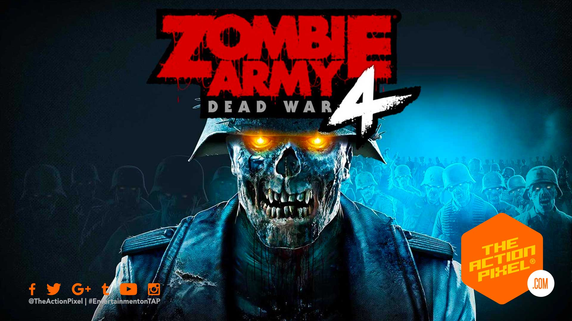 zombie army 4: dead war, dead war, rebellion, sniper elite, zombie army, the action pixel, reveal trailer, entertainment on tap, trailer, nazi zombies, zombies, zombie