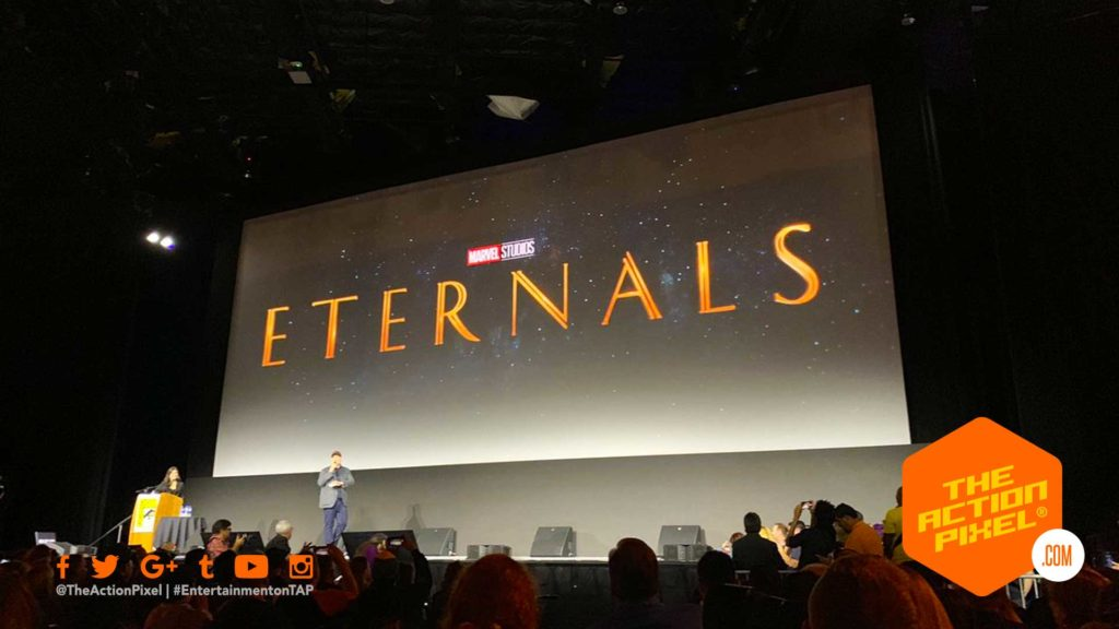 eternals, marvel, the eternals, sdcc, marvel sdcc, entertainment on tap, the action pixel, marvel studios,