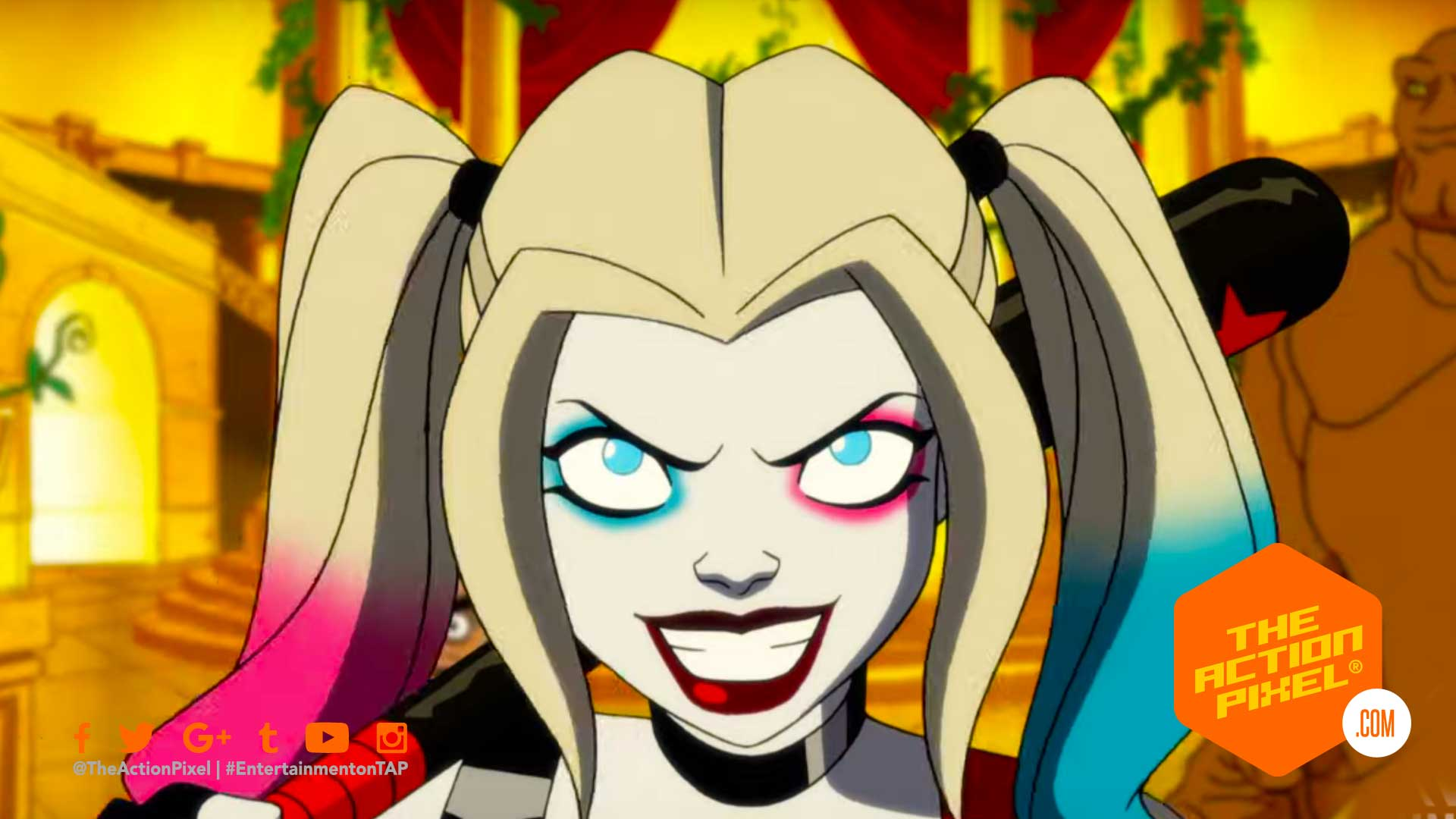 harley quinn, dc universe, dc's harley quinn, harley quinn animation series, harley quinn preview, entertainment on tap, the action pixel, dc comics, featured