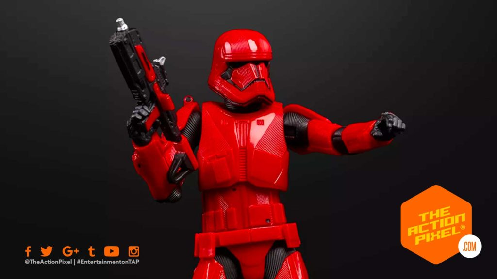 sith trooper, star wars, the action pixel, star wars: the rise of skywalker, skywalker, red, red sith trooper, trooper, star wars the rise of skywalker,rise of skywalker, style on tap, the action pixel, entertainment on tap