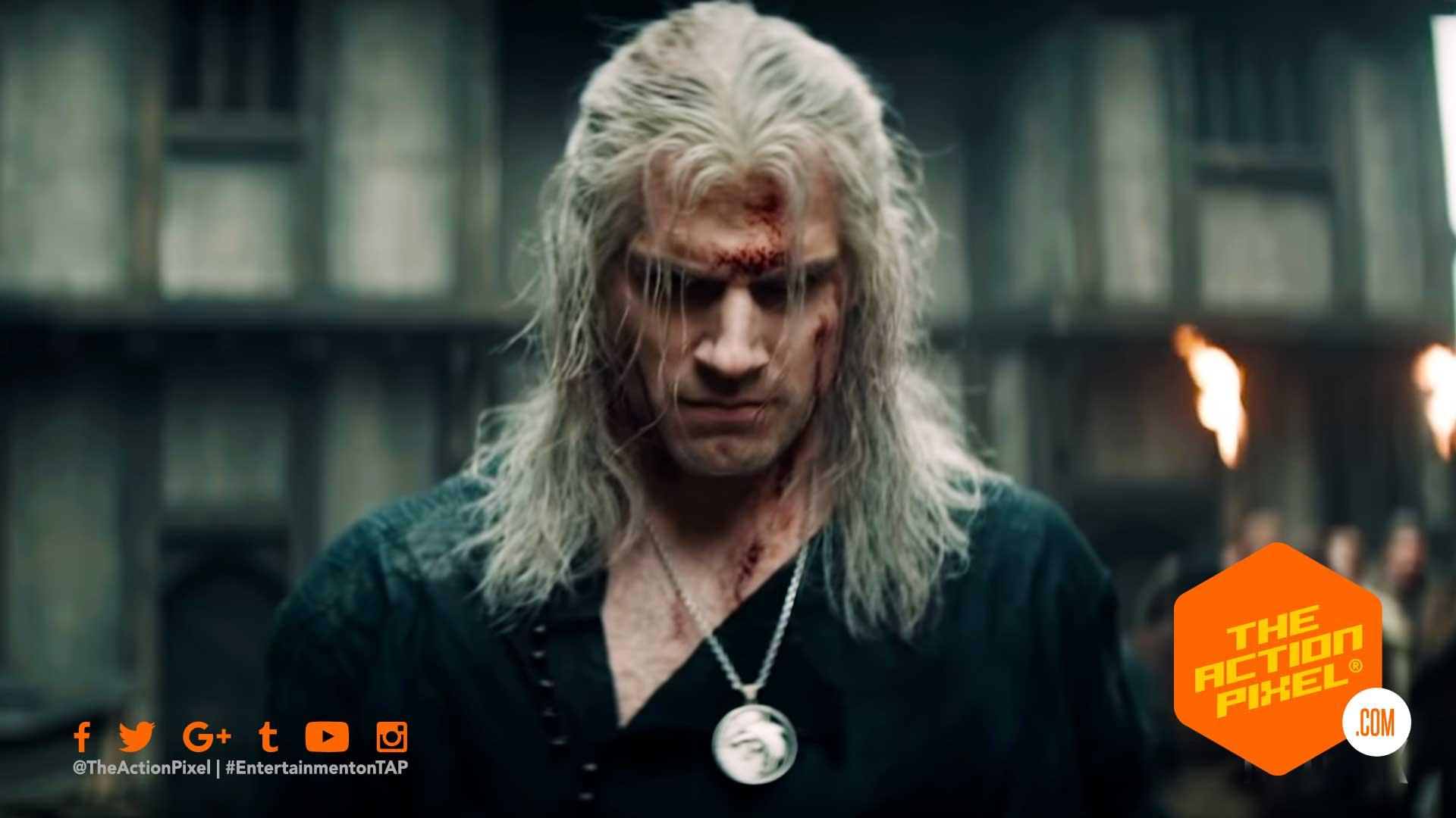 the witcher 3: wild hunt, Geralt, netflix, entertainment on tap, the action pixel, @theactionpixel, the witcher,yennefer,Anya Chalotra, Freya Allan, ciri, geralt, henry cavill, netflix, featured,teaser trailer,