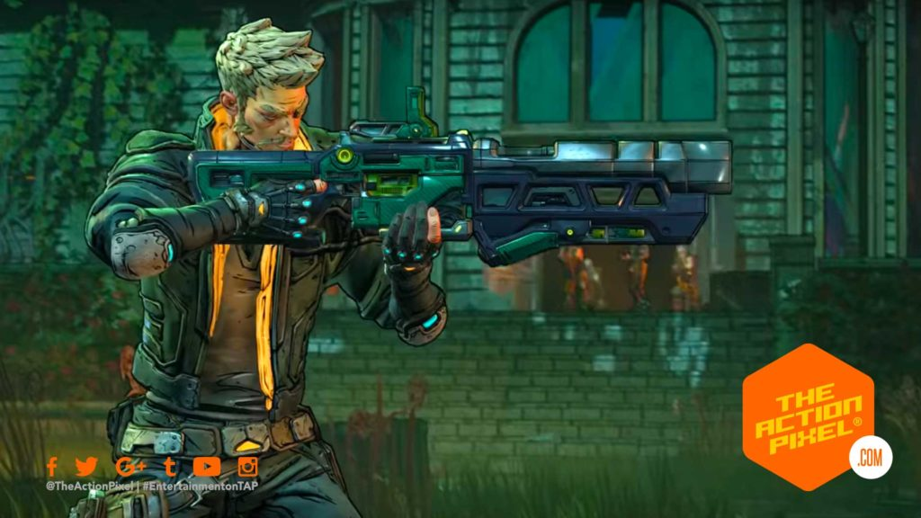 zane, borderlands 3, gearbox software, epic games, 2k, 2k games, borderlands,e3 , e3 2019, the action pixel, entertainment on tap,character trailer, borderlands 3 character trailer, borderlands 3 digi-self