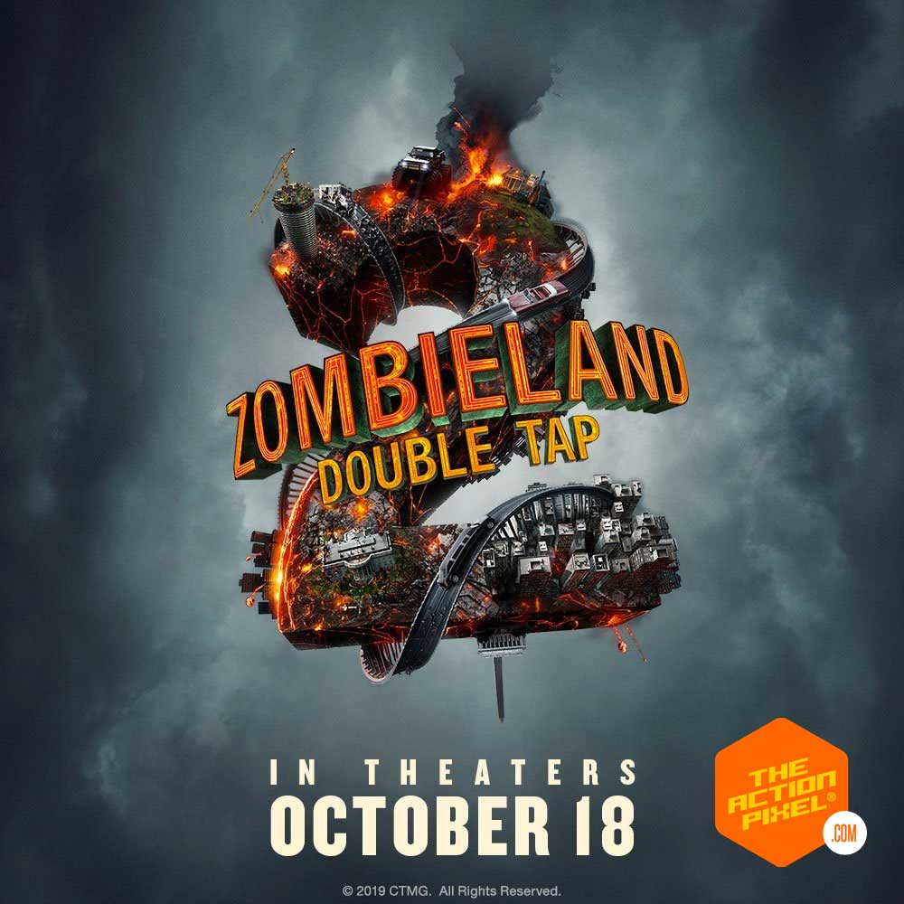zombieland: Doubletap, doubletap, zombieland, sony pictures entertainment ,sony, the action pixel, featured, entertainment on tap