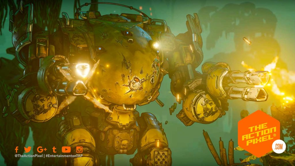MOZE, IRON BEAR, CHARACTER TRAILER, BORDERLANDS, BORDERLANDS 3, IRON BEAR MECH,