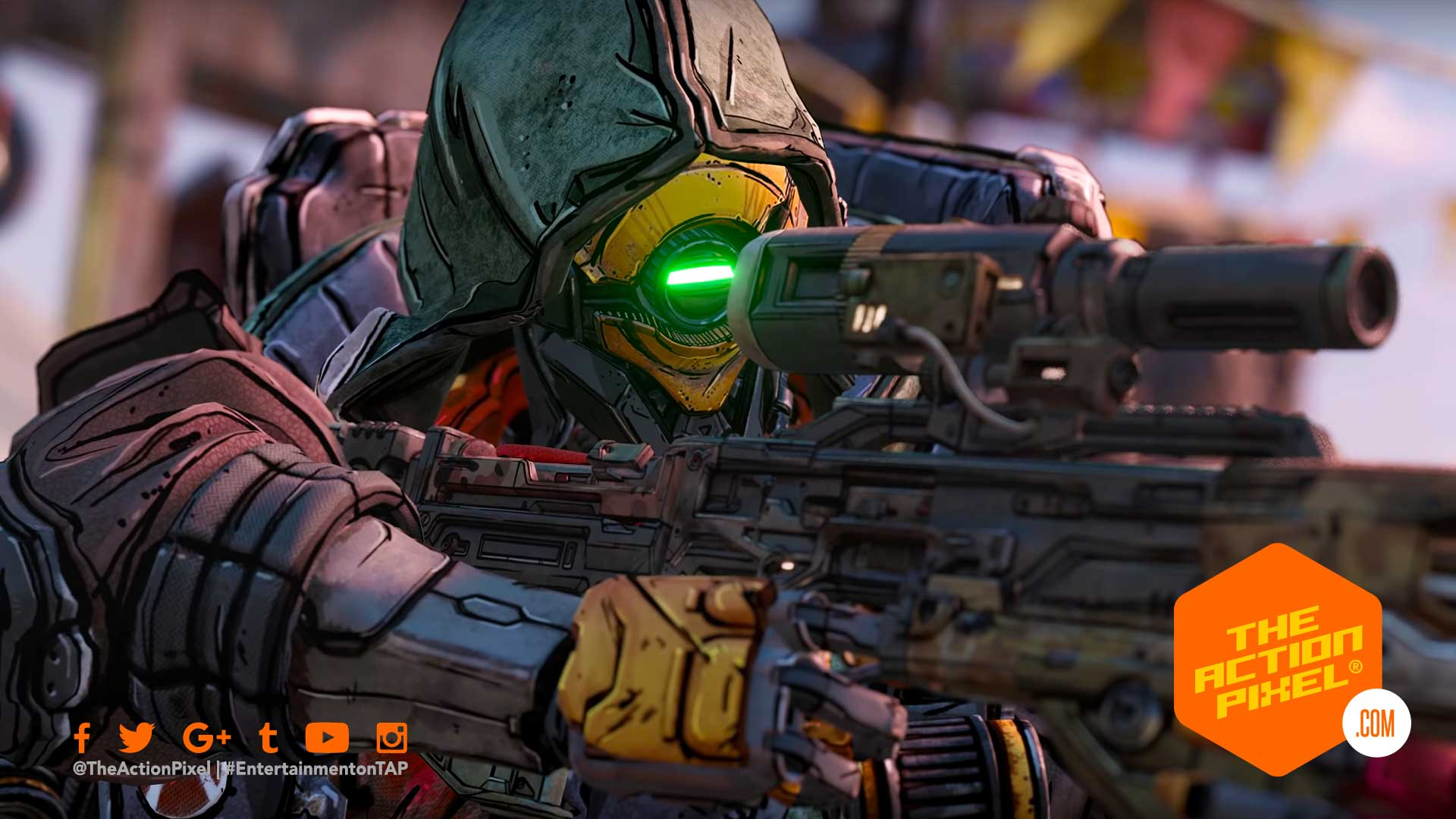 fl4k, borderlands 3, borderlands, character trailer, amara character trailer, borderlands 3 amara, looking for a fight, borderlands, featured, the action pixel, entertainment on tap, beastmaster, hunter,featured