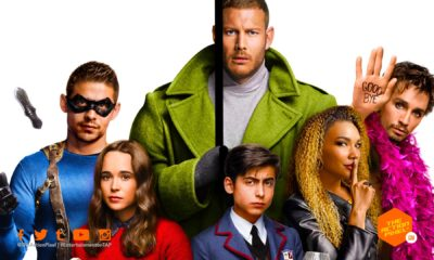 the umbrella academy, ritu arya, yusuf gatewood, marin ireland, Ellen Page, Tom Hopper, David Castañeda, Emmy Raver-Lampman, Robert Sheehan, Aidan Gallagher, Justin H. Min , netflix, dark horse comics, umbrella academy, the action pixel, featured, netflix, the umbrella academy season 2,