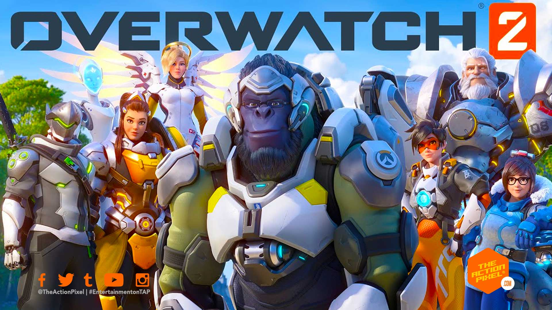 overwatch 2, zero hour, overwatch, overwatch 2 cinematic trailer, entertainment on tap, the action pixel, blizzard entertainment,