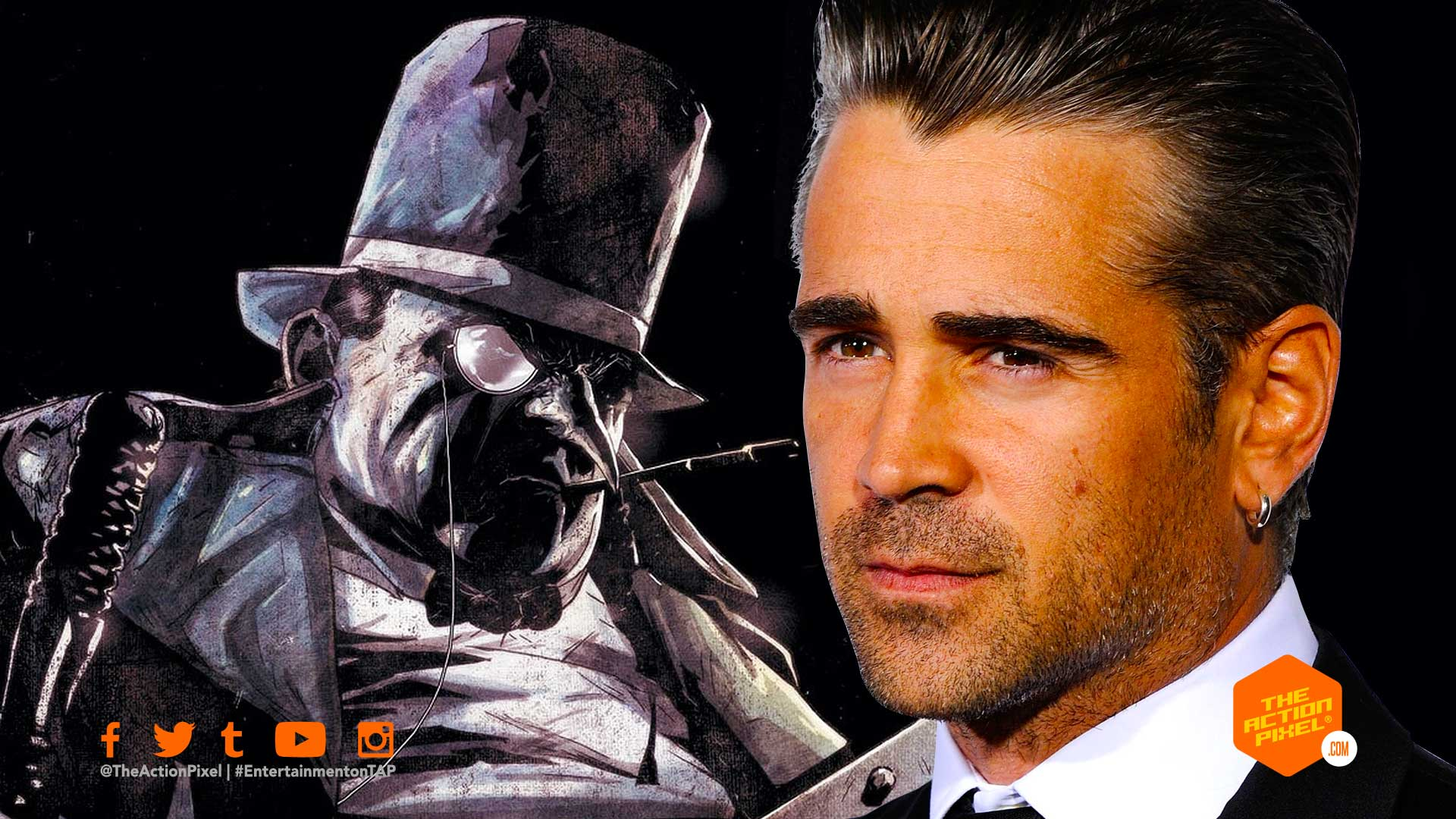 penguin, colin farrell, the penguin, the action pixel, wb pictures, warner bros. pictures, dc comics, the batman, matt reeves, featured,