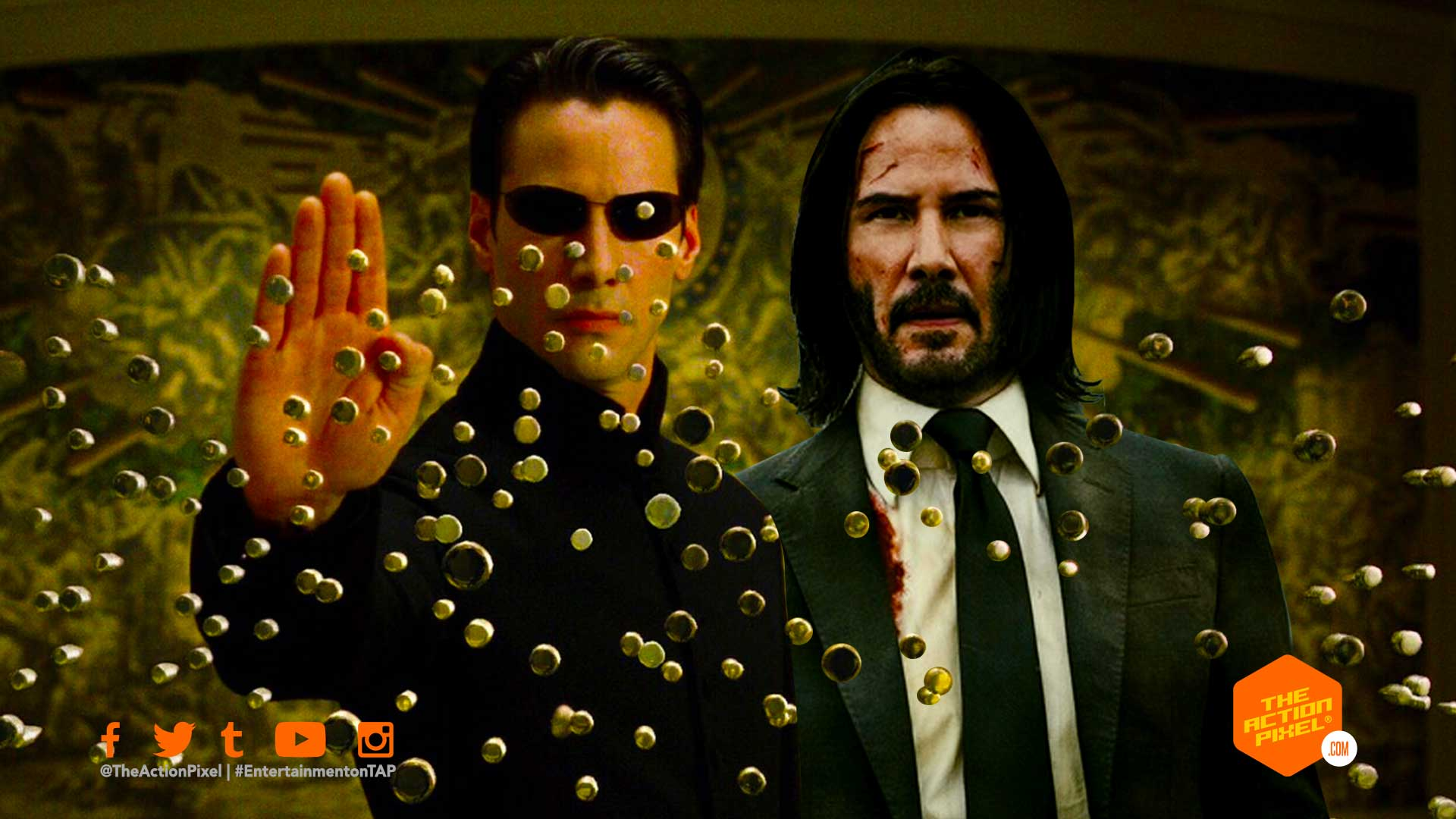 keanu reeves,matrix, john wick, the action pixel, entertainment on tap,