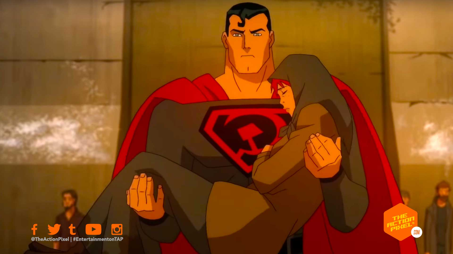 superman: red son, red son, superman, dc comics, wb animation , the action pixel, entertainment on tap,superman: red son trailer,