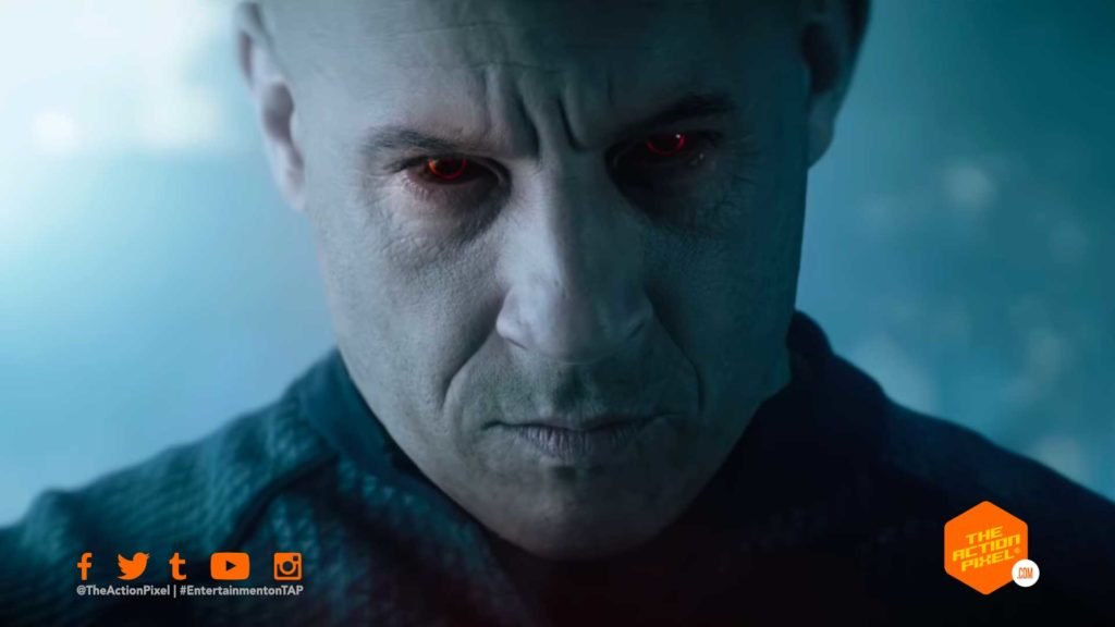 bloodshot, vin diesel, the action pixel, sony pictures, vin diesel bloodshot, bloodshot trailer, vin diesel bloodshot trailer, entertainment on tap, valiant, valiant comics,