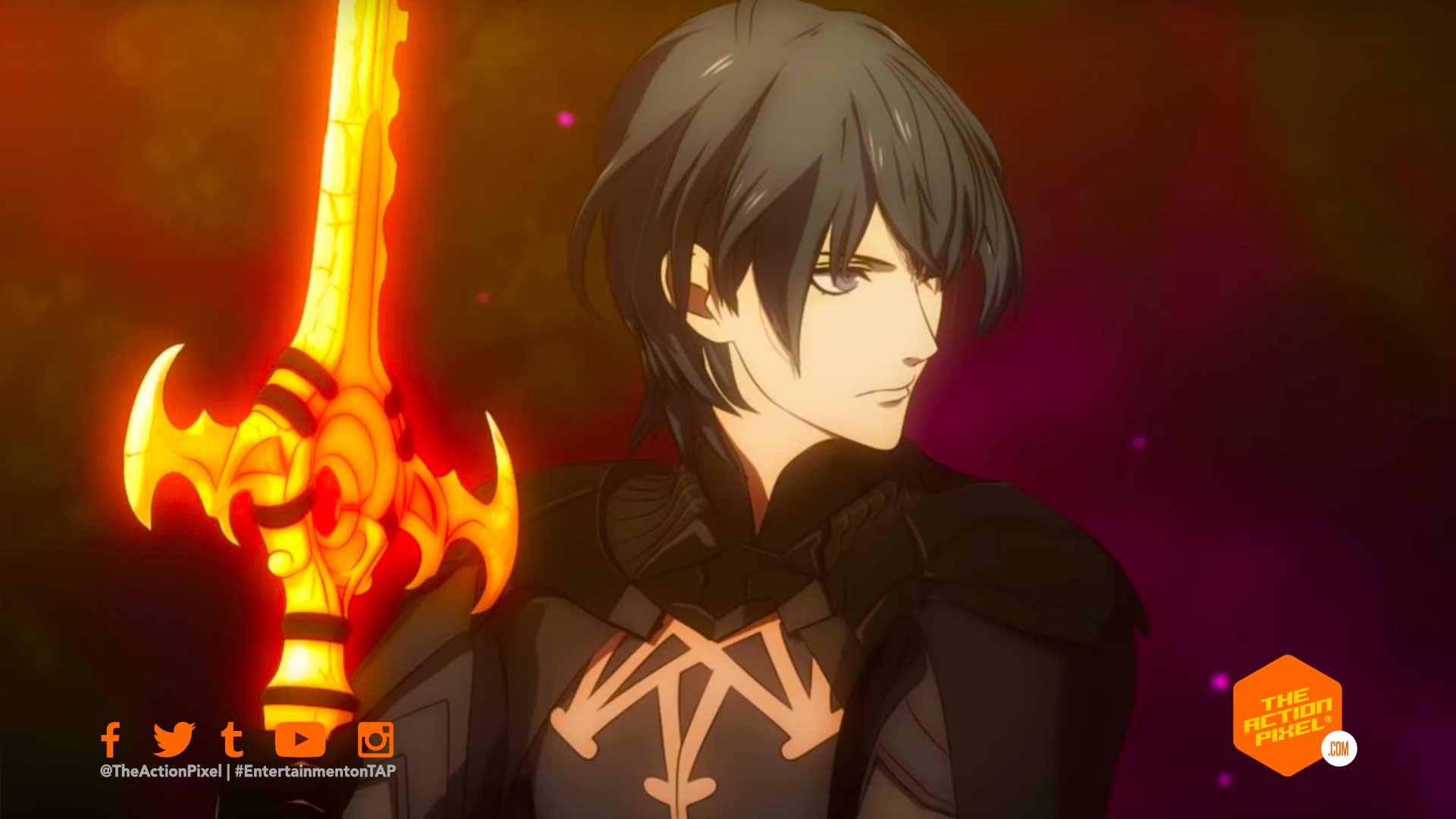 byleth, super smash bros., super smash bros ultimate, fire emblem, super smash bros., the action pixel, entertainment on tap,super smash bros ultimate, super smash bros dlc character, featured, entertainment on tap, the action pixel