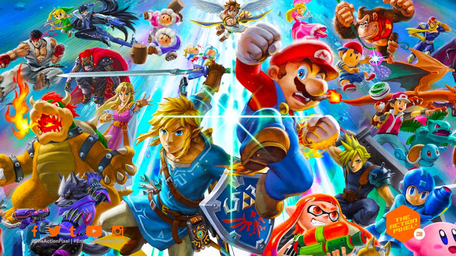 super smash bros., the action pixel, entertainment on tap,super smash bros ultimate, super smash bros dlc character, featured, entertainment on tap, the action pixel