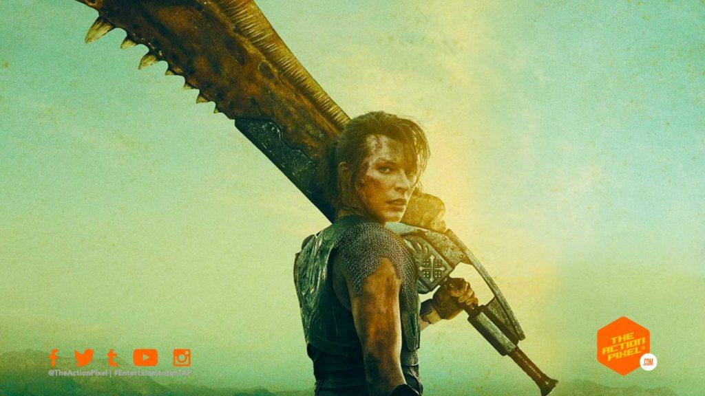 milla jovovich, Lieutenant Artemis,monster hunter, the hunter ,featured, capcom, video game movies,tony jaa,