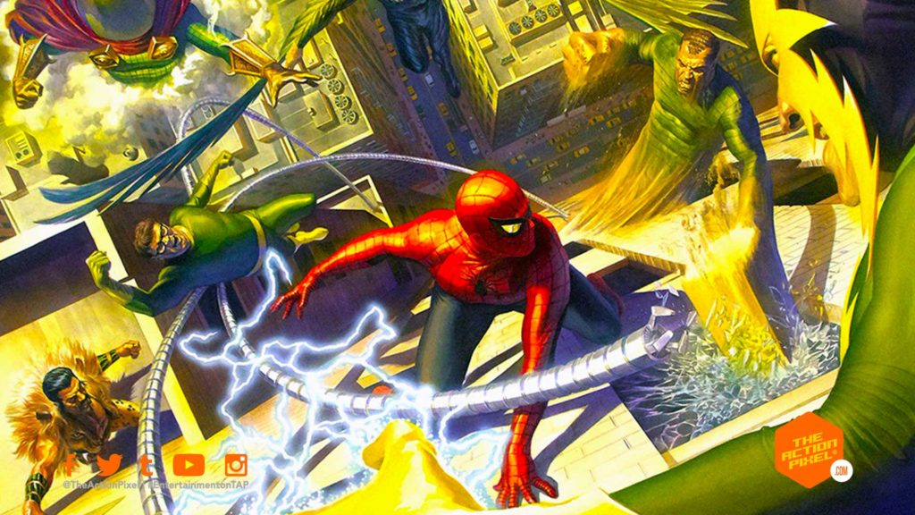 sinister six, marvel, sony, sony pictures, marvel movie, sony pictures , entertainment on tap, the action pixel,