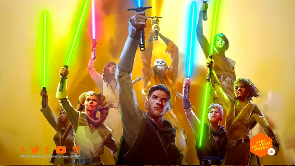 the high republic, entertainment on tap, the action pixel, star wars, star wars: the high republic, lucasfilm, disney,lightsaber,