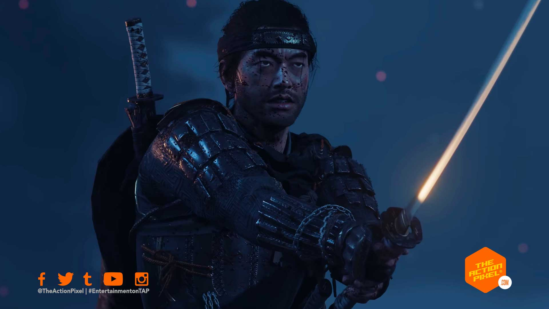 ghost of tsushima,story trailer, ghost of tsushima story trailer, ghost of tsushima release date, sucker punch, sucker punch ghost of tsushima, samurai, featured, ghost of tsushima trailer, entertainment on tap, the action pixel,