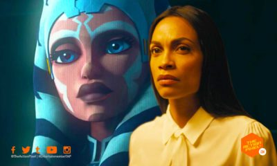 rosario Dawson, ahsoka, clone wars, star wars, the mandalorian season 2, rosario dawson ahsoka, rosario ahsoka, the mandalorian 2 casting, the mandalorian casting, the madalorian 2 casting, the mandalorian season 2, star wars disney+, disney+ entertainment on tap, featured, the action pixel