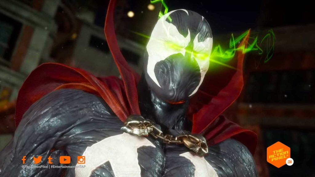 spawn, mk11, mortal kombat 11, the action pixel,entertainment on tap, the action pixel, mk 11 gameplay trailer, kombat pack