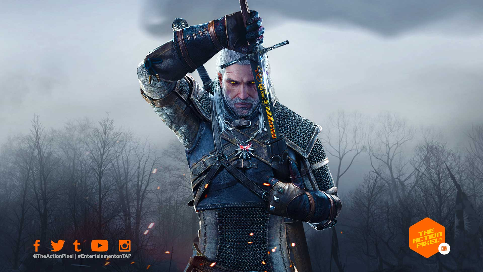 the witcher, the witcher 4, the witcher 3: wild hunt, entertainment on tap, the action pixel, featured, cd projekt red, cyberpunk 2077, the witcher, witcher,