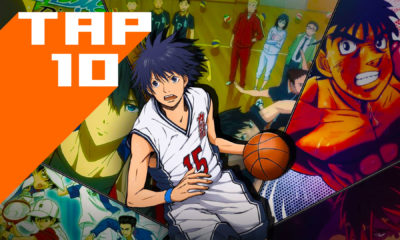 sports anime, baby steps , captain tsubasa, major, anime,manga, kuroko no basket, the prince of tennis, eyeshield 21, ookiku furikabutte, big windup!, yowamushi pedal, free! dive to the future, hajime no ippo, haikyuu,, basketball, tennis, volleyball, baseball, sports manga, soccer ,football, american football, swimming, tap 10, top ten list, top ten animes, top ten anime list, entertainment on tap, the action pixel, featured,